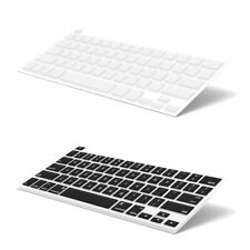 2pcs Keyboard Cover For MacBook Pro Touch Bar 13