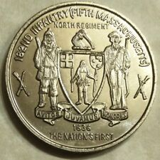 5th Mass 182nd Infantry MECH 1st BN Army Challenge Coin