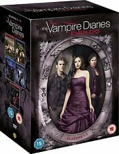 VAMPIRE DIARIES (Love Sucks) Stagioni 1-5 BOX 25 DVD Lingua Inglese NEW .cp