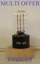 7h-4b USA reso corrente REGOLATORE Resistore zavorra Tubo 8 Pezzi Valvola Tube