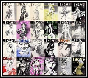 Drag Magazine - PDF Format - 29 Magazines – Download - Cross Dress - Transgender