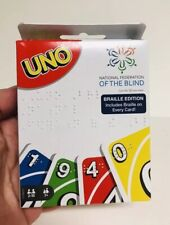 UNO Card Game Braille Edition