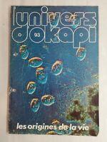 N31 Rivista Universo Okapi N° 93 I Origini Della Vita ,Al Y A 4 Miliardi