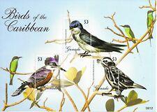 GRENADA BIRDS  Mini Sheet of 3 MINT NH