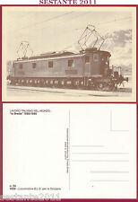 ITALIA MAXIMUM MAXI CARD LAVORO ITALIANO BREDA LOCOMOTORE SVIZZERA 24 1985 B584