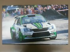 Poster RALLYE SKODA FABIA R5 Rallye Boemia