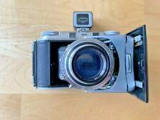 Voigtlander bessa II Color Skopar 1:3.5 / 105mm with Kontur viewfinder.