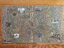 ICO PS2 Playstation 2 Fumito Ueda 2001 Vintage Poster Ad Art Shadow of Colossus