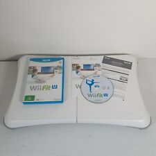 Nintendo Wii Fit U -- Game + White Balance Board -- UK Seller ---