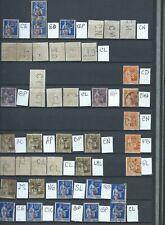 FRANCE - RARE -PERFORÉS - PERFINS - 40  timbres tous différents