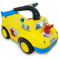 Toddler Ride On Baby Push Car School Bus Activity Play Fun Toy Kids Gift Toys