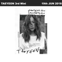 TAEYEON Something New 3rd Mini Album CD+Booklet+PhotoCard KPOP Sealed