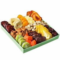 Oh! Nuts® Holiday Nut and Dried Fruit Gift Basket, Healthy Gourmet Snack Food &