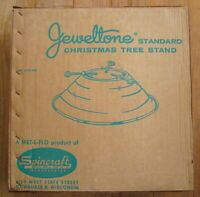 Jeweltone Christmas Tree Stand NEW OLD STOCK NEVER REMOVED FROM BOX