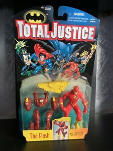 The Flash Kenner Batman Total Justice 1996 Action Figure DC Comics