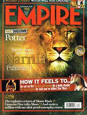 EMPIRE #198 12/2005 LION ASLAN Narnia HARRY POTTER Cameron Diaz MONICA BELLUCCI