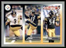 2005 Topps Total Silver Mike Schneck/Chris Gardocki/Jeff Reed #383