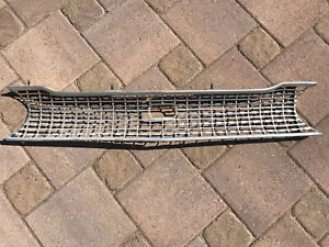63 FORD GALAXIE 500 XL FRONT GRILLE Galaxy Grill 1963 Or Country Squire