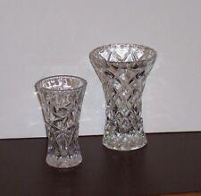 """Lenox Fine Crystal Bud Vases or Pedestals for Votives 4"""" & 5"""""""