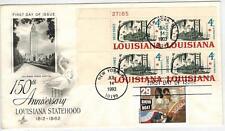 Louisiana Statehood 1197 Cachet +  Showboat Broadway Musical Issue FDC