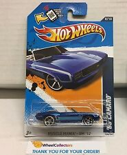 '69 Camaro #108 * BLUE Toys R Us Only * 2012 Hot Wheels * C13