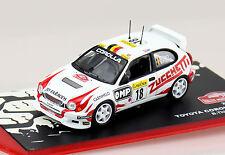 Toyota corolla wrc rally 2000 #18 1:43 IXO/ALTAYA voiture miniature/les-Cast