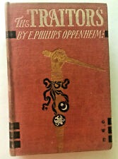 E. Phillips Oppenheim THE TRAITORS 1903 HC illustrated 1st edition nice binding
