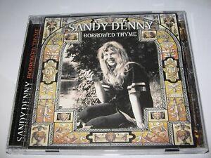 BORROWED THYME by SANDY DENNY (1966-68)  24 Tracks on Scarce CD   Folk Rarities