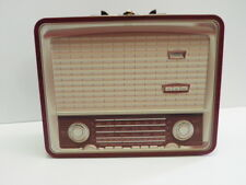 STORAGE BOX SUITCASE ORGANIZATION STORAGE RADIO ANTIQUE STYLE VINTAGE DECOR