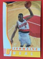 NBA JERMAINE O'NEAL Blazers 1997 Topps Bowmans Best ROOKIE Trading CARD #5