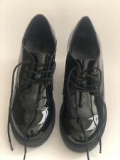 Chunky Heeled Creeper Forever 21 Lace Up Oxford Shoes SIZE US 7.5M