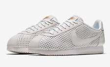 WOMEN'S NIKE CORTEZ CLASSIC SE PREMIUM SHOES SUMMIT WHITE (AA1436-100) SIZE 10