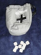 Bolt Action Dice Bag German   Warlord Games 28mm WW2 plus 9 dice