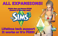 The Sims 3 Complete Collection - ALL EXPANSIONS Windows DOWNLOAD LINK! ALL PACKS