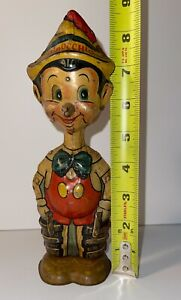 1939 Walt Disney Pinocchio Metal Toy Marx Metal Tin wind-up Works