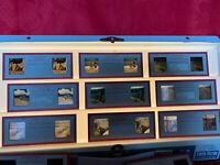 Lot Of 11 Vintage Kodachrome Stereo Slides   Red Border. L@@K!!