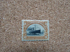 US Scott 299 10c Fast Ocean Navigation Mint Hinged - Free shipping