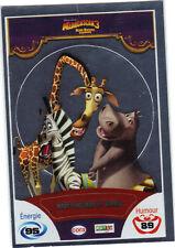 Vignette de collection autocollante CORA Madagascar 3 n° 86/90 - Marty, Melman..