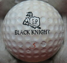 (1) GARY PLAYER SIGNATURE LOGO GOLF BALL (CAMPBELL - MAPLE LEAF CIR 1963) #3