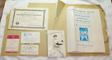 1963 SIGNED LITTLE LEAGUE BASEBALL HONORARY CHAIRMAN TED WILLIAMS AUTOGRAPH MLB