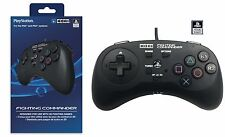 HORI FIGHTING COMMANDER CONTROLLER GAMEPAD FOR PLAYSTATION 4 PS4 / PS3 / PC