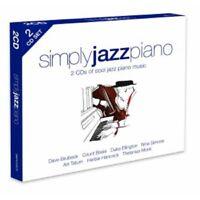SIMPLY JAZZ PIANO (HERBIE HANCOCK/NINA SIMONE/DUKE ELLINGTON/+) 2 CD NEW!