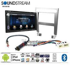 Soundstream VR-651B Double Din DVD Bluetooth Radio Install Kit Harness