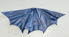 SU-C-MZB-BU: 1/12 scale Dark Blue Wired Cape for Mezco One:12 Batman (No figure)