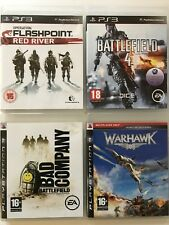 Operation Flashpoint+Battlefield Bad Company+4+Warhawk-PS3 Game Bundle 523