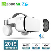 Wireless Bluetooth BOBOVR Z6 Virtual Reality VR Glasses BOX 3D Headset + Remote