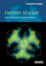 ELECTRONIC STRUCTURE - NEW HARDCOVER BOOK
