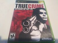 True Crime: Streets of L.A. (Microsoft Xbox, 2003) complete CIB tested