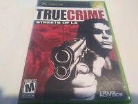 True Crime: Streets of L.A. (Microsoft Xbox, 2003) complete CIB tested