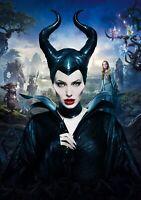 MALEFICENT Movie PHOTO Print POSTER Textless Film Art Angelina Jolie 001